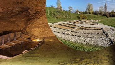 circuit decouverte grottes et site archeologique nord isere en taxi